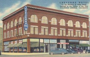 COLORADO SPRINGS, Cheyenne Hotel, Colorado, 30-40s