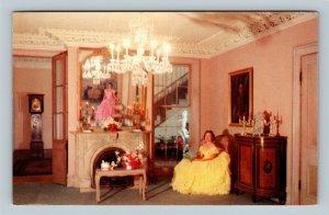 Myrtles Plantation French Parlors, Saint Francisville Louisiana Vintage Postcard