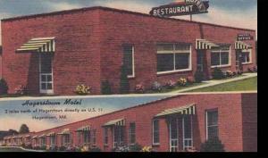 Maryland Hagerstown Hagerstown Motel & Restaurant