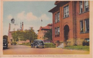 Post Office Summerside Prince Edward Island Canada Old Postcard