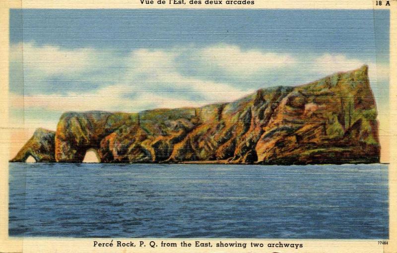 Canada - Quebec, Perce Rock