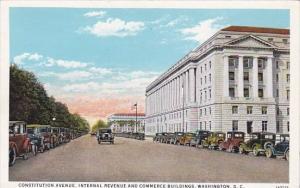 Constitution Avenue Internal Revenue And Commerce Buildings Washington D C