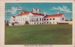 North Carolina Charlotts Charlotte Country Club 1948