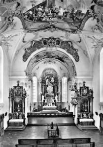 Augsburg Helmut Burkhardt Kirche Church Interior view