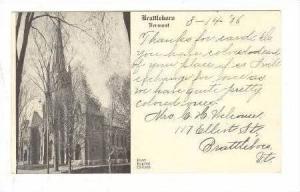 First Baptist Church, Brattleboro, Vermont, PU-1906