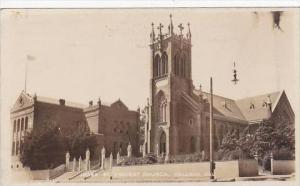 California Vallejo J9063 St Vincent Church Real Photo