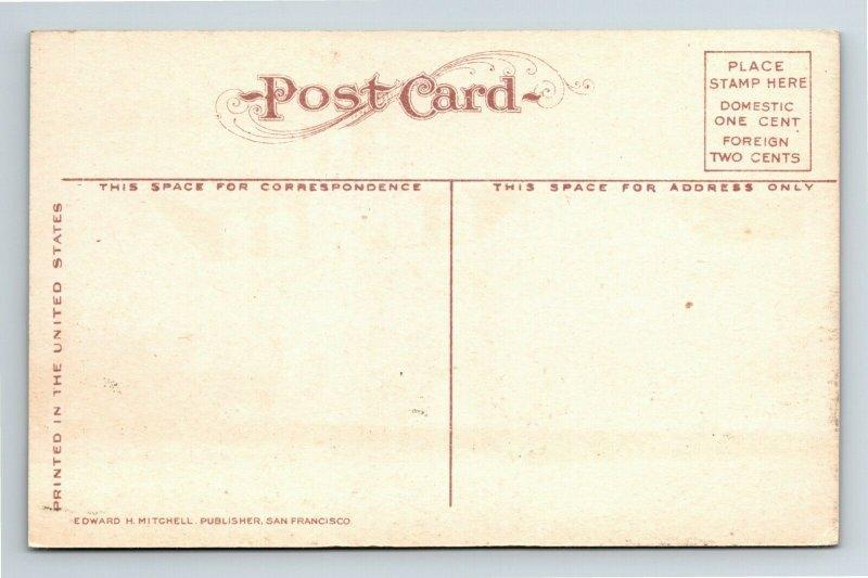 Ogden UT, Sacred Heart Academy, Vintage Utah Postcard