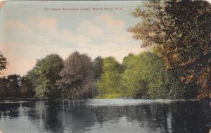 MOUNT HOLLY, New Jersey, 1900-1910's; On Upper Rancocas Creek
