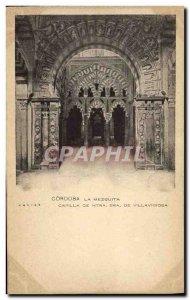 Old Postcard Cordoba Mezquita