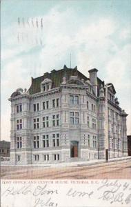 Canada Victoria Post Office and Custom House 1908
