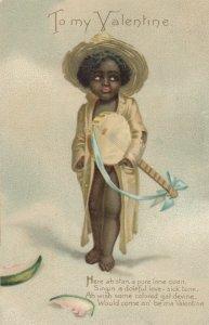VALENTINE , Boy with a Banjo , 1901-07
