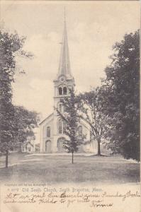 Old South Church Braintree Massachusetts Rotograph 1905