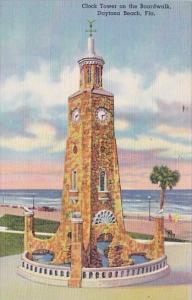 Clock Tower On The Boardwalk Daytona Beach Florida