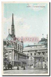 CARTE Postale Old Paris La Sainte Chapelle