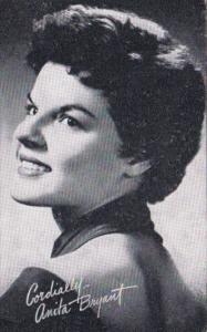 Vintage Arcade Card Anita Bryant