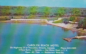 Canada Ontario Thesselon Carolyn Beach Motel