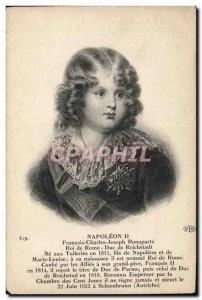Old Postcard Napoleon II King of Rome Duke of Reichstadt