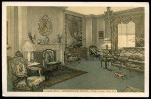 Drawing Room, Ambassador Hotel, Park Avenue, NY. Lumitone Photo-Print