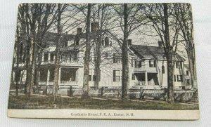 Vintage Postcard - 1920s Graduates House, P.E.A., Exeter, NH Great Condition!!