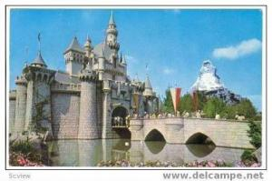 Sleeping Beauty's Castle,Disneyland,Anaheim,CA,1960s D-1