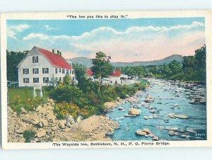 W-border INN SCENE Bethlehem New Hampshire NH AE0453