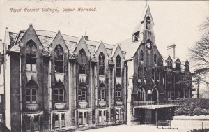 Royal Normal College , Upper NORWOOD , London , England , PU-1913
