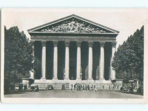 old rppc NICE VIEW Paris France i3362