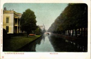 CPA `s-GRAVENHAGE Mauritskade NETHERLANDS (602266)