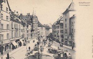 SCHAFFHAUSEN , Switzerland , 1890s-1907 ; Frohnwaagplatz