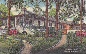 Florida Rainbow Springs Rainbow Lodge At Rainbow Springs