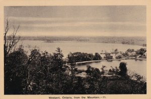WESTPORT, Ontario, Canada, 1900-1910's; View From Mountain