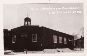 RP: Ville St Laurent , Quebec , Canada , 10-20s ; Eglise Notre Dame du Bois-F...
