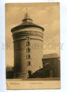 191553 GERMANY NURNBERG Frauenthor-Turm Vintage postcard