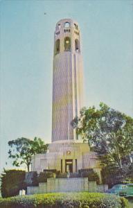 California San Francisco Coit Memorial Tower Pioneer Park