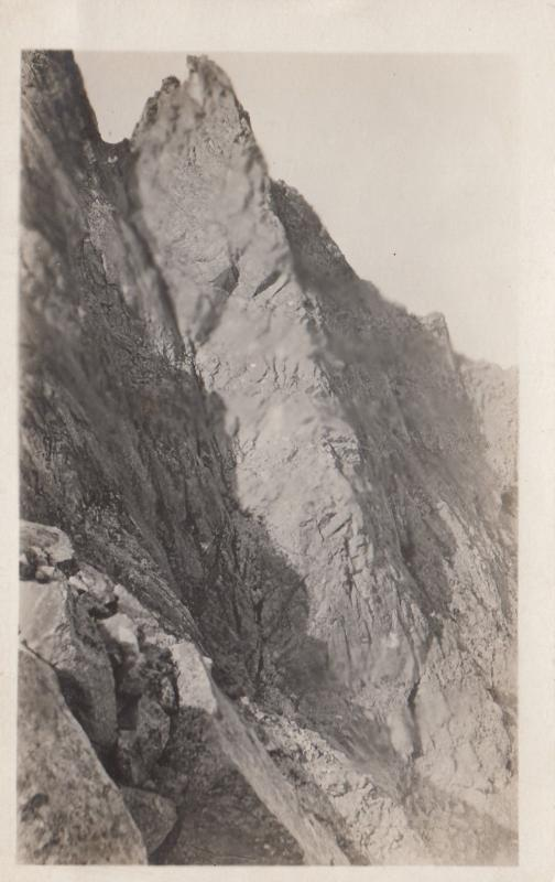 RP: Mountain Scene, HAZELTON, B.C., Canada, 00-10s W.W. WRATHALL Photo postcard