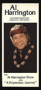Al Harrington of Hawaii 5-0 Show Brochure, Reef Towers, H...