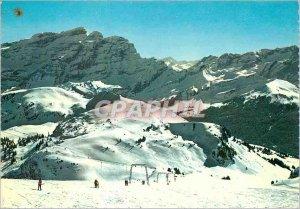Postcard Modern Col de Bretaye