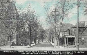 LPS59 Excelsior Springs Missouri Excelsior St. Kansas City House Church Postcard