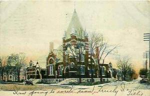 WI, Oshkosh, Wisconsin, Presbyterian Church, Western News Company C 3187