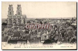 Old Orleans Postcard view of the Cathedral taken from the Museum Tour