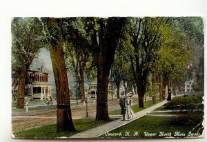 Victorian Couple, Upper North Main St Concord, New Hampshire, Used 1910