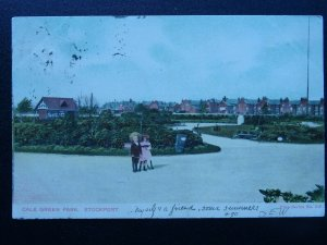 Manchester STOCKPORT Cale Green Park c1904 Postcard by Vine Series