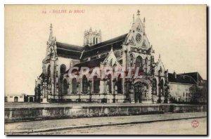 Postcard Ancient Church of Brou