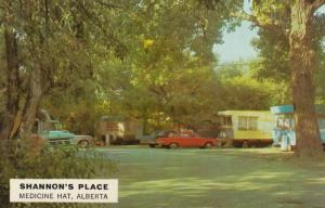 MEDICINE HAT , Alberta , Canada , 50-60s ; Shannpon's Place ,Trailer Park
