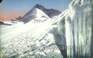 Jungfraujoch Swizerland, Schweiz, Svizzera, Suisse Oberes Monchsjoch Mit Jung...