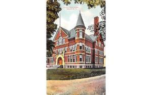 Sidney High School New York Postcard