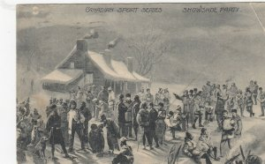 Sports Series, Canada, 1907 ; Snowshoe Party
