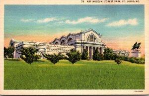 Missouri St Louis Forest Park Art Museum Curteich