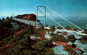 North Carolina Grandfather Mountain Mile High Swinging Bridge