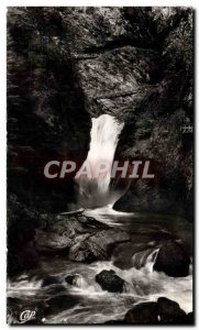Postcard Modern Servoz Les Gorges de Diosaz Cascade of & # 39Aigle